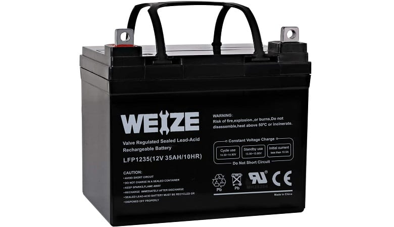 WEIZE RECHARGEABLE BATTERY