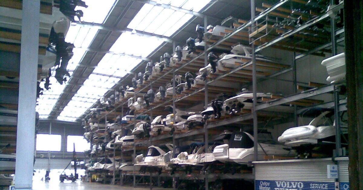 Winter Boat Storage Ideas 2